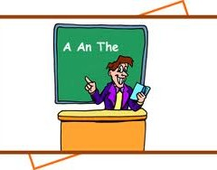 """A, An, The"" حروف تعریف معین و نا معین"