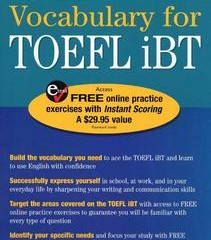 دانلود کتاب Vocabulary for TOEFL iBT