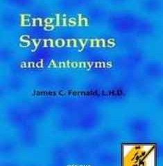 دانلود کتاب English Synonyms and Antonyms