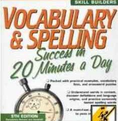 دانلود کتاب Vocabulary & Spelling Success In 20 Minutes A Day
