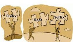یادگیری واژگان با استفاده از پسوند، پیشوند و ریشه