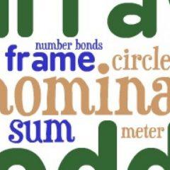 ریاضیات در زبان انگلیسی