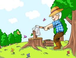 A story of woodcutter