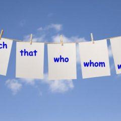 ضمایر نسبی در زبان انگلیسی