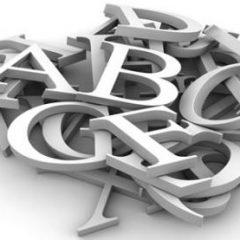 تقسیمات الفبا: Divisions of Alphabets:i